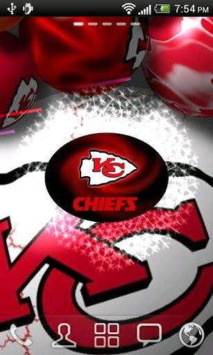 Kansas City Chiefs 3D Live WP | Free 3D Live Wallpaper for Android