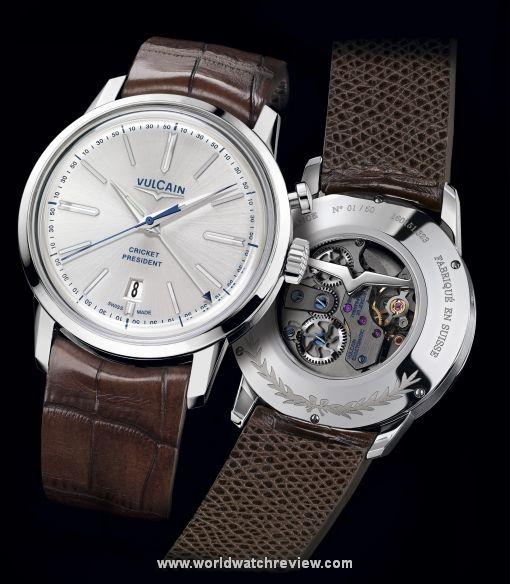 Vulcain 50s Presidents' Alarm Watch Edition France