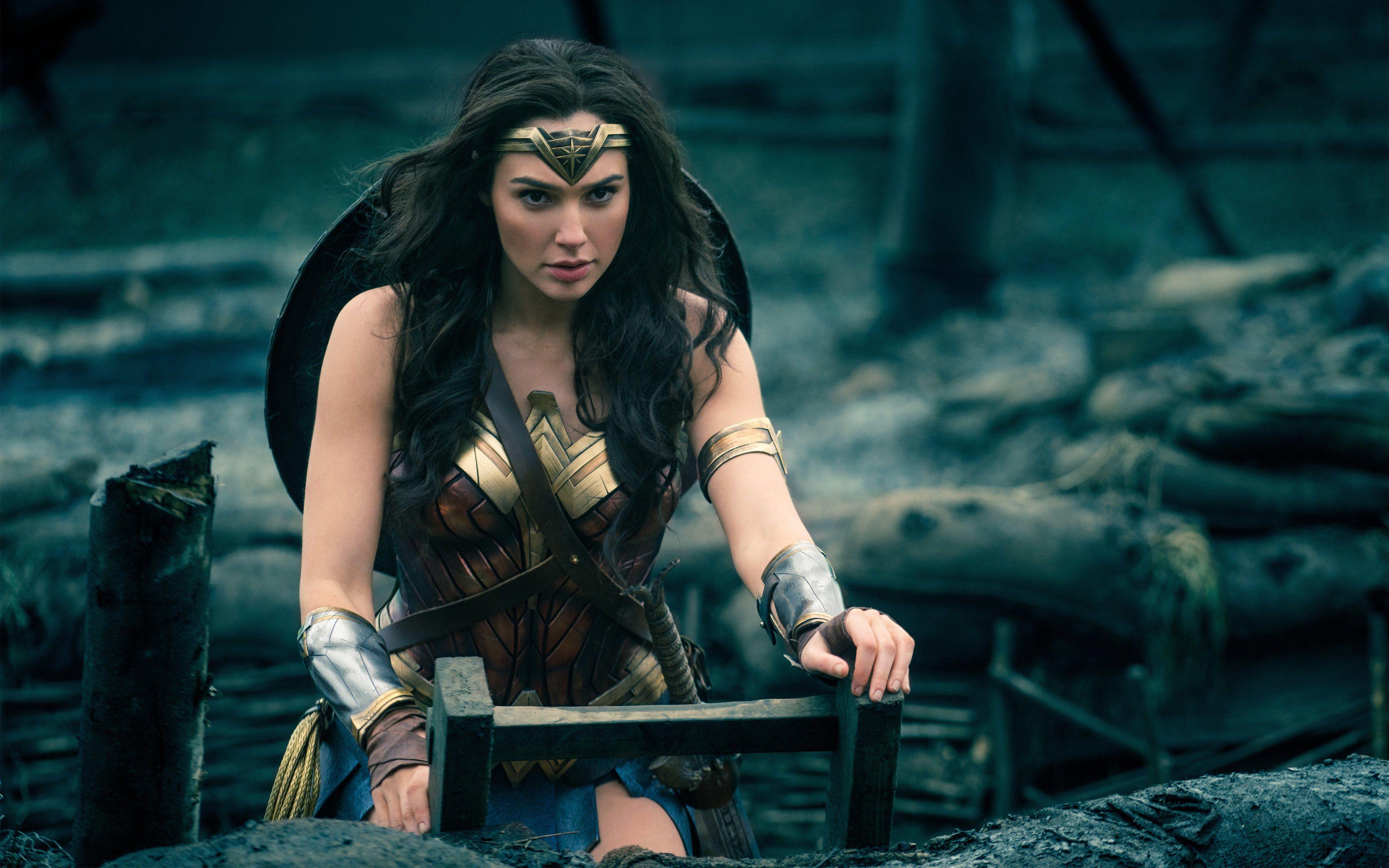 Gal Gadot as Wonder Woman 4K 8K Wallpaper