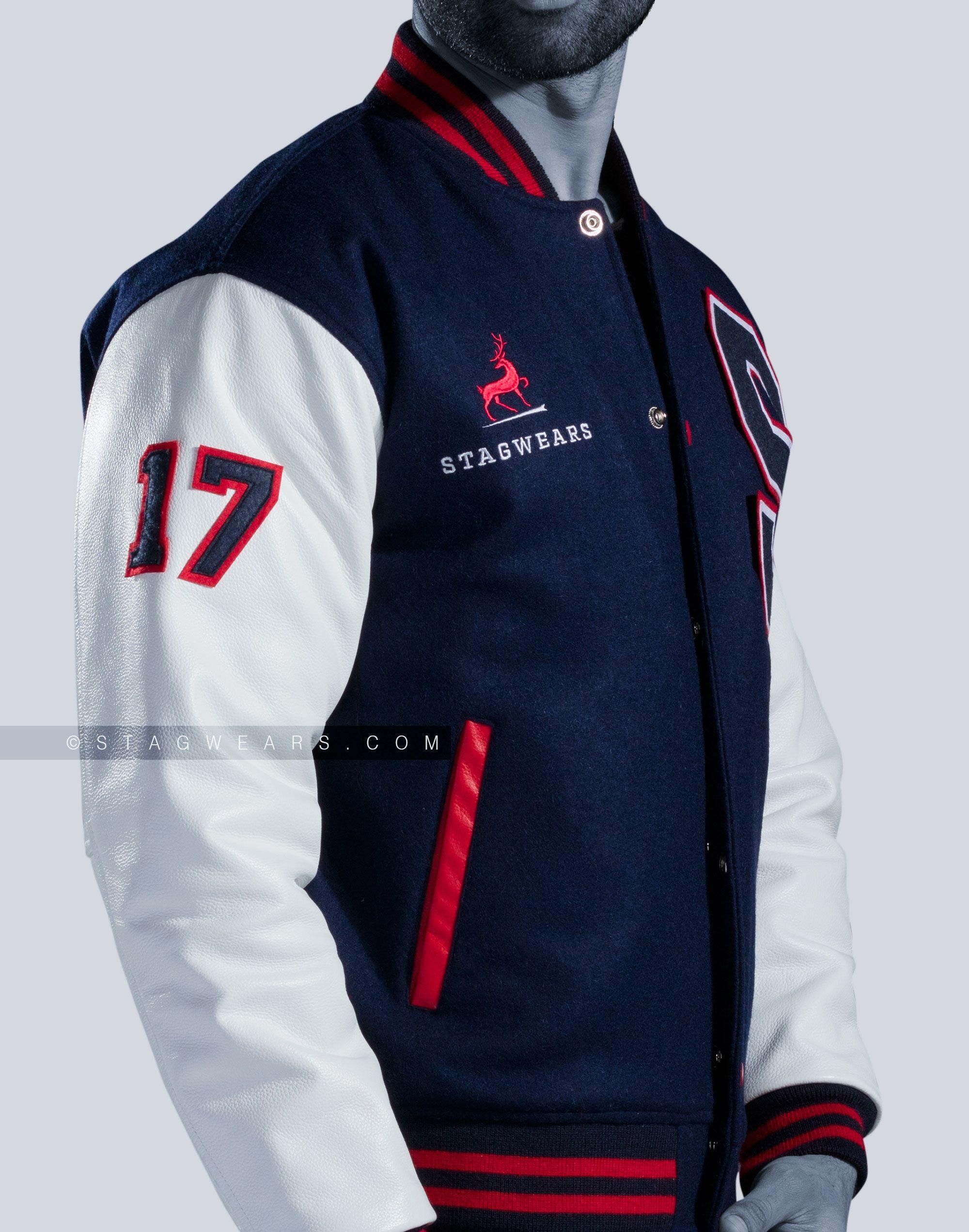 Custom Varsity Jackets Leather Sleeves | Men & Women