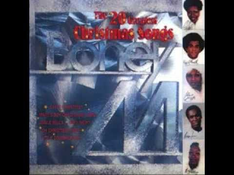 Boney M - The 20 Greatest Christmas Songs - YouTube   Christmas songs youtube, Christmas music ...