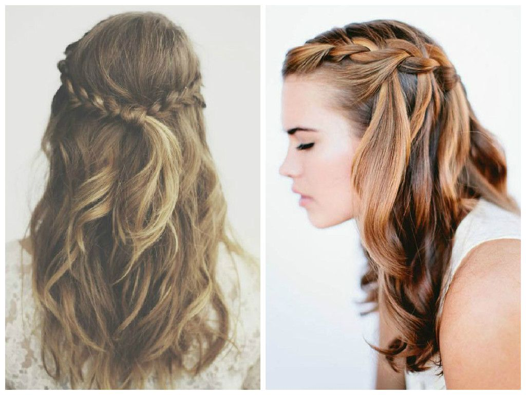 half up half down braided hairstyles to inspire you how to