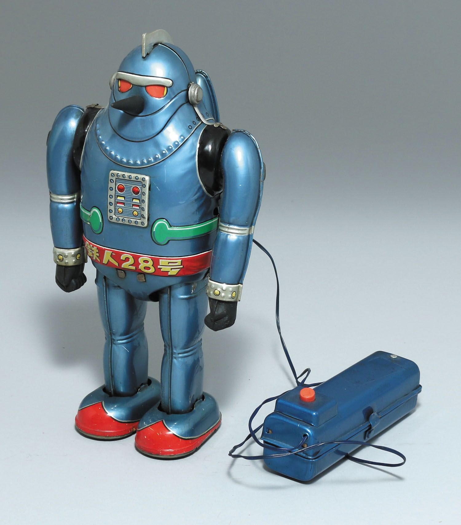 ノムラトーイ 鉄人28号電動リモートコントロールno 5 ヴィンテージのロボット 鉄人 レトロなおもちゃ