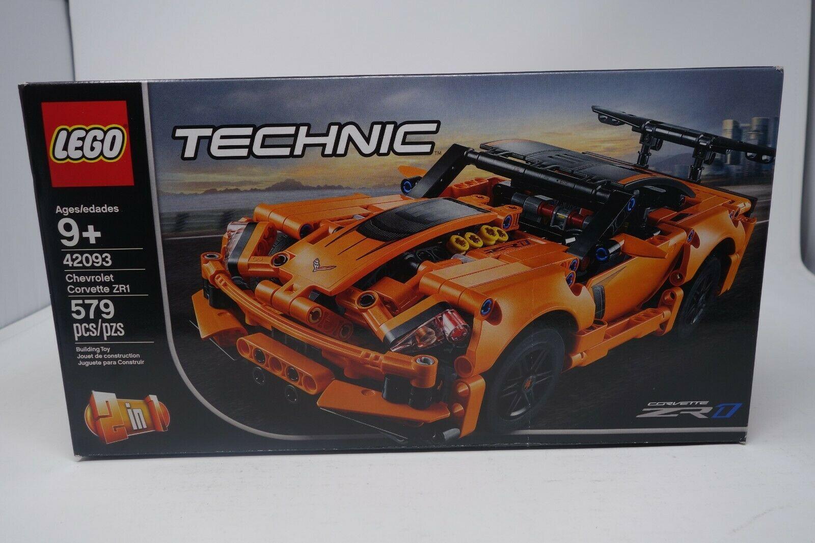 Details About Lego Technic Chevrolet Corvette Zr1 42093 Brand New