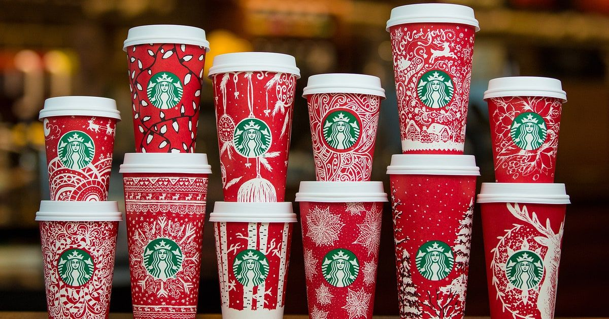 Starbucks just debuted 13 new red holiday cups for the 2016 season — watch the amazing video!