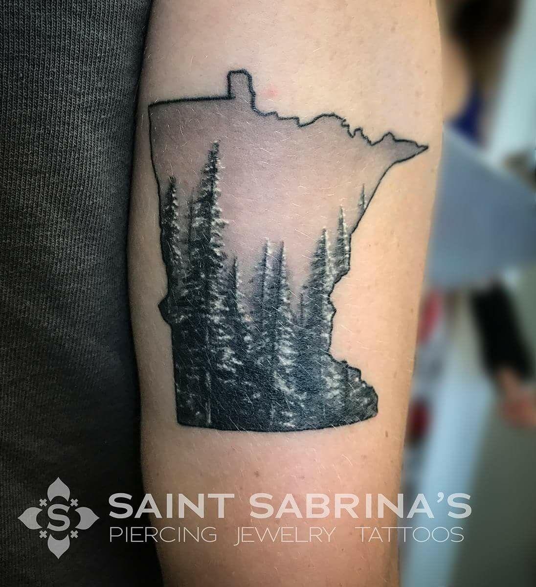 Amazing minnesota tattoo by bleach from saint sabrinas