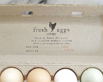 Egg Carton Stamp En