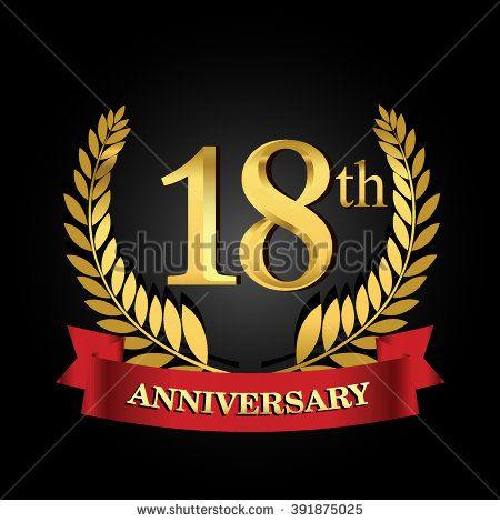Yuyut Baskoro S Portfolio On Shutterstock Anniversary Logo Anniversary Sign 18 Year Anniversary