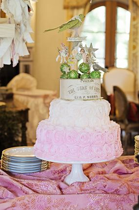 Fairy Tale Themed Anthropologie Inspired Magical Baby Shower Baby