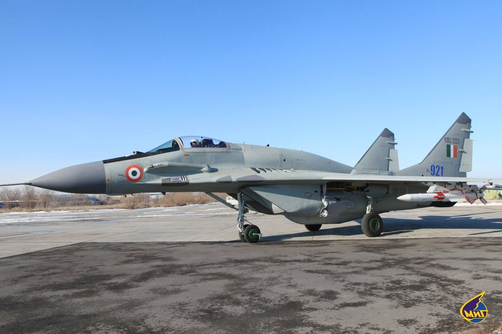 Indian Airforce's upgraded MiG-29 UPG armed with the R-77