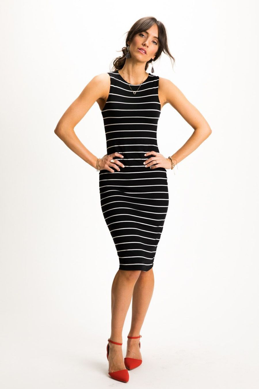 Buy How to tight wear midi dress picture trends