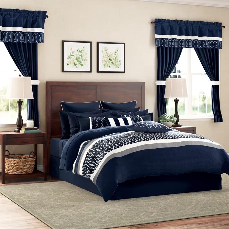 Meredith 24 Piece Comforter Set in 2020 Comforter sets