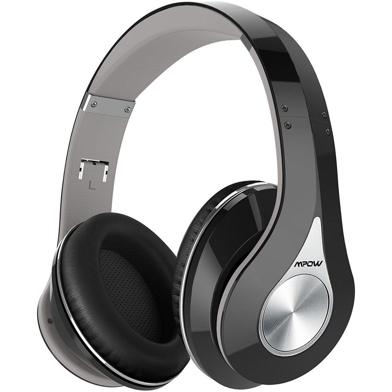 Mpow Bluetooth Headphones Over Ear, Hi-Fi Stereo Wireless Headset ...