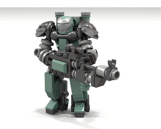 Tesla Troops Defiler Battlesuit Lets Build Pinterest Lego