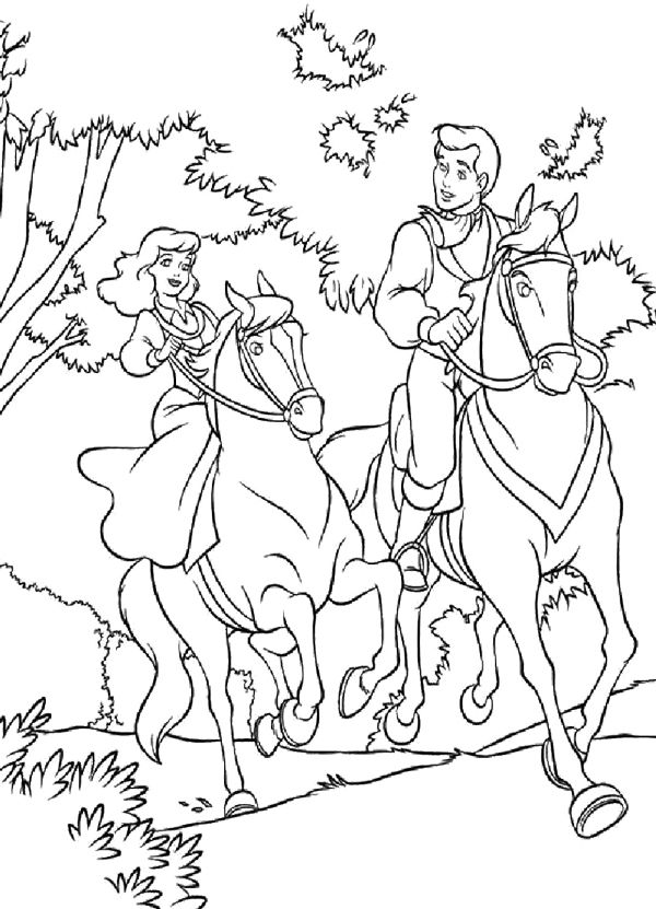 Cinderella Coloring Page 13 Is A From BookLet Your Children Express Their Imagination When They Color The