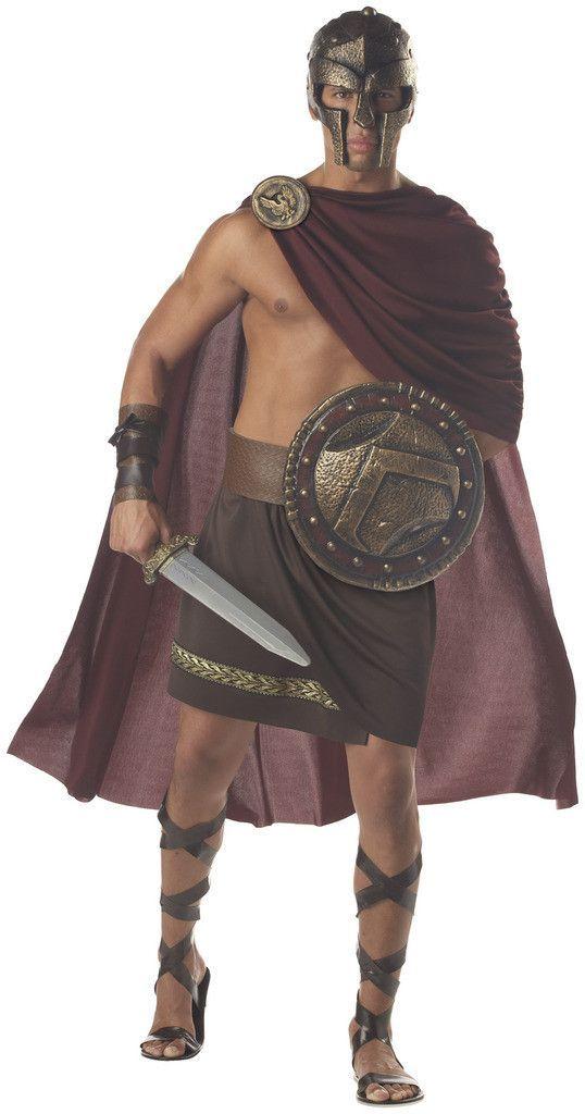 Spartan Warrior Adult Costume | athenean | Pinterest | Spartan warrior Costumes and Halloween costumes  sc 1 st  Pinterest & Spartan Warrior Adult Costume | athenean | Pinterest | Spartan ...