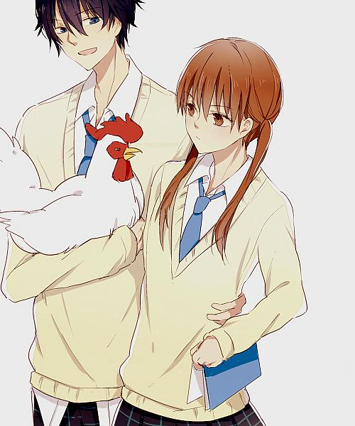 Pin By Urairat Apirakmontri On Anime Monstr Za Sosednej Partoj Best Romance Anime Anime Romance My Little Monster