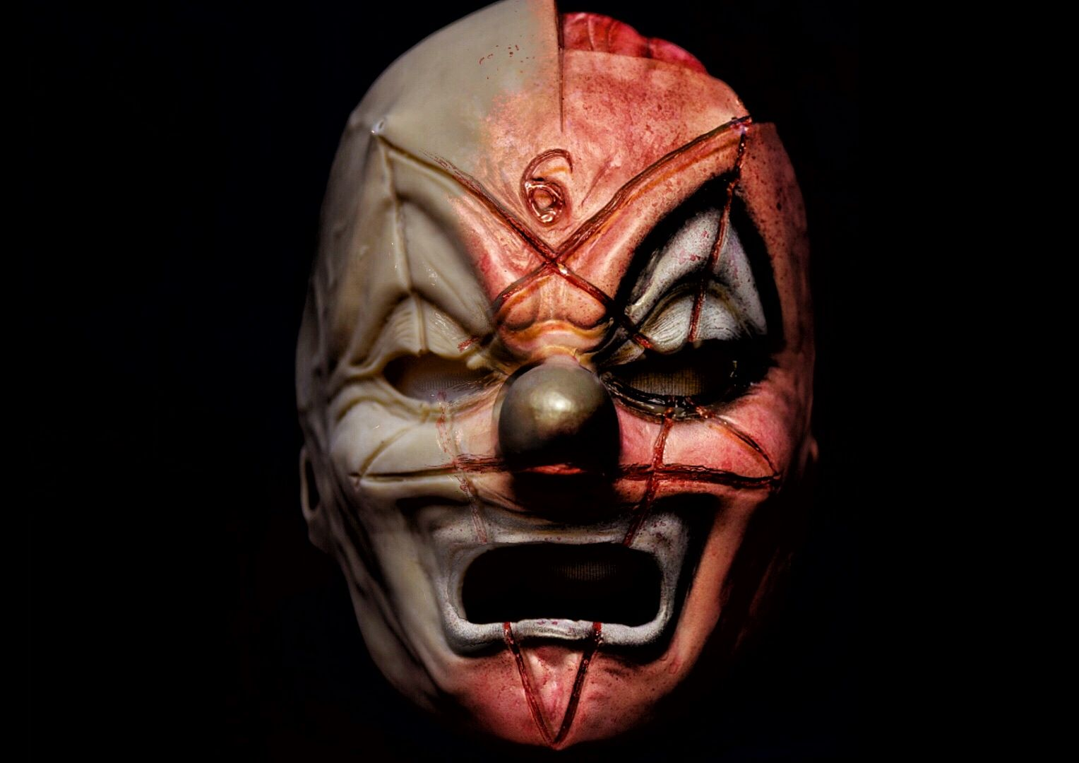 Slipknot Iowa Clown mask. Sculpted by Brandon Murphee and painted ...