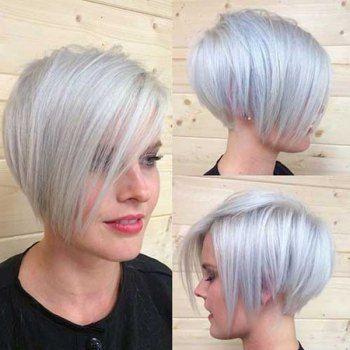 Beige Gray Multicolor Wigs For Women & Men | Cheap Best Lace Front Wigs Online Sale | DressLily.com $13
