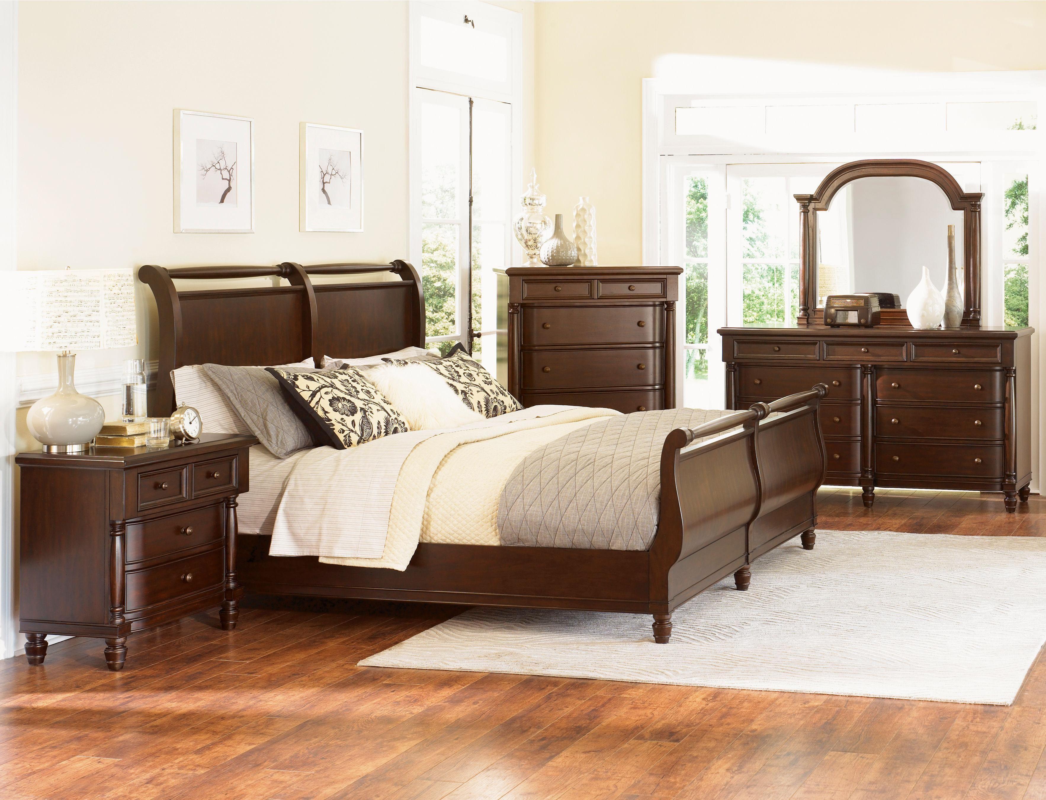 Best Belcourt Bedroom Set Sleigh Bedroom Set Bedroom 400 x 300