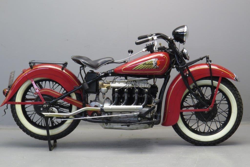 Indian 1935 435 1260cc 4 cyl ioe