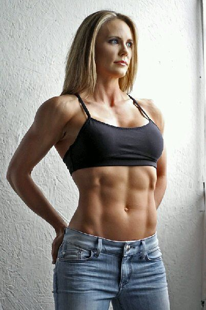 Girls with nice abs interesting question
