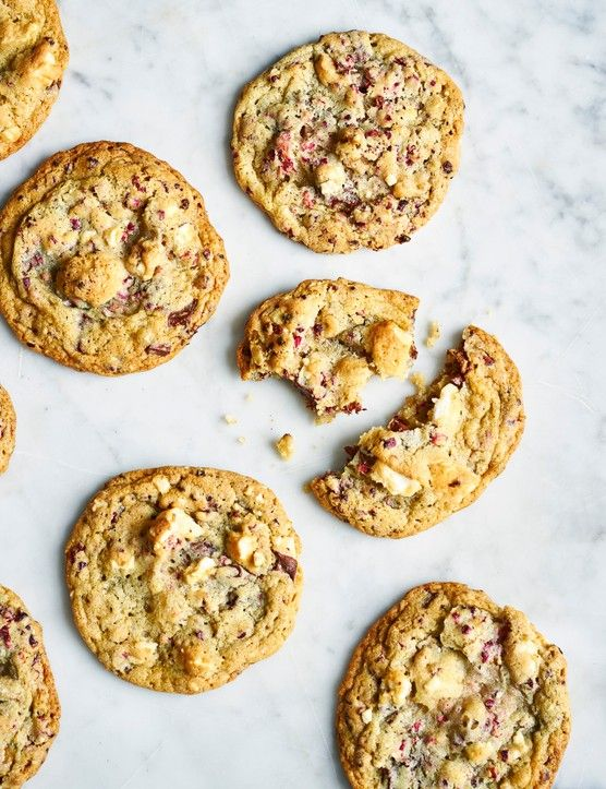 Double chocolate-walnut meringue cookies | Recipe ...