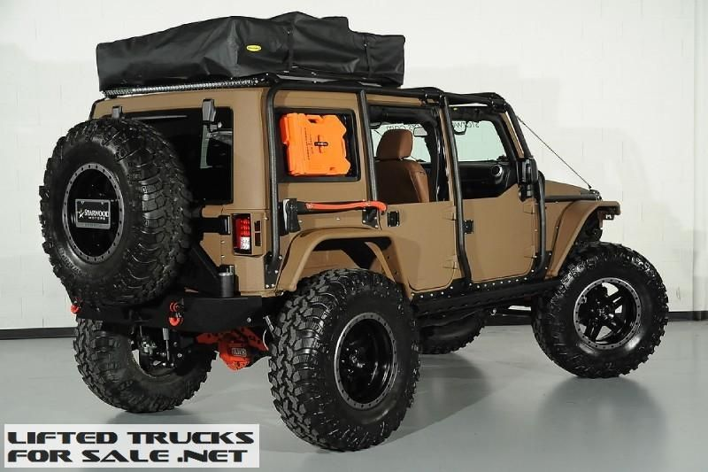 2015 Jeep Wrangler Unlimited Rubicon Nomad Kevlar Coated Lifted