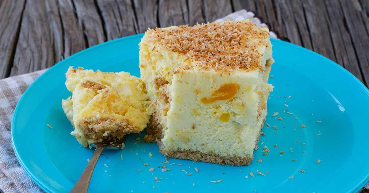 No Bake Pineapple Fridge Tart Recipe Evaporated Milk Recipes Pineapple Dessert Recipes Baked Pineapple