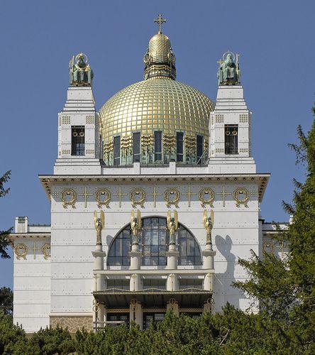 Eglise St Léopold Am Steinhof (Vienne/Autriche) by dalbera, via Flickr