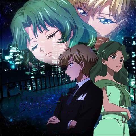 Pin Di Rose Su Sailor Moon Sailor Uranus Neptune Haruka Michiru