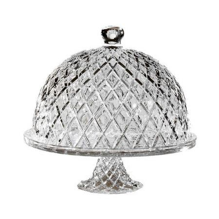 Crystal Muirfield Cake Pedestal with Dome at Joss & Main