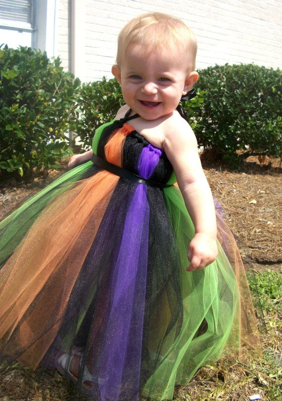 Witch Halloween Costume Tutu Dress Infant Toddler Girls Tutu - toddler girl halloween costume ideas