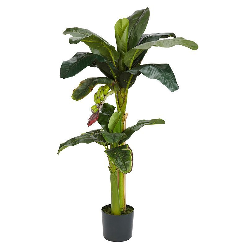 5-ft. Silk Banana Tree with Bananas