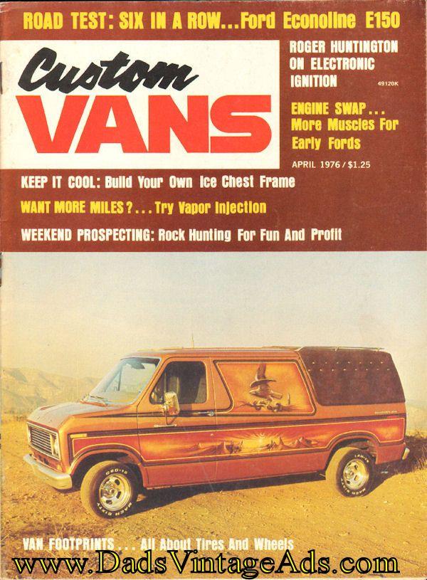1976 April Custom Vans Magazine Back-Issue