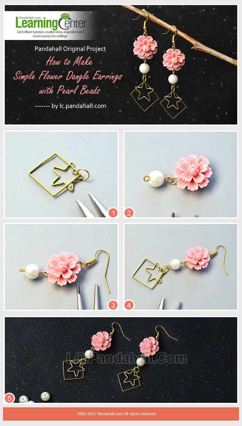 Suivez-nous afin de faire des boucles d'oreilles admirables et pleines de design. Inscrivez-vous pour obtenir #coupon de $5! #PandaHall #frPandaHall #bricolagebijoux #simple #faitmain #élégance #accessoire #accessoires #tutoriel #bouclesdoreilles #pendentifs #perles #cabochons #fleurs #earrings #beads #jewelry #DIY #mode