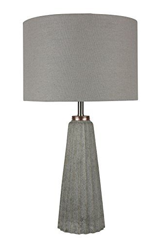 Urbanest Gesso 20 1/2 Inch Table Lamp In Natural Stone Fi.