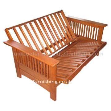 Wooden Sofa Bed Futon