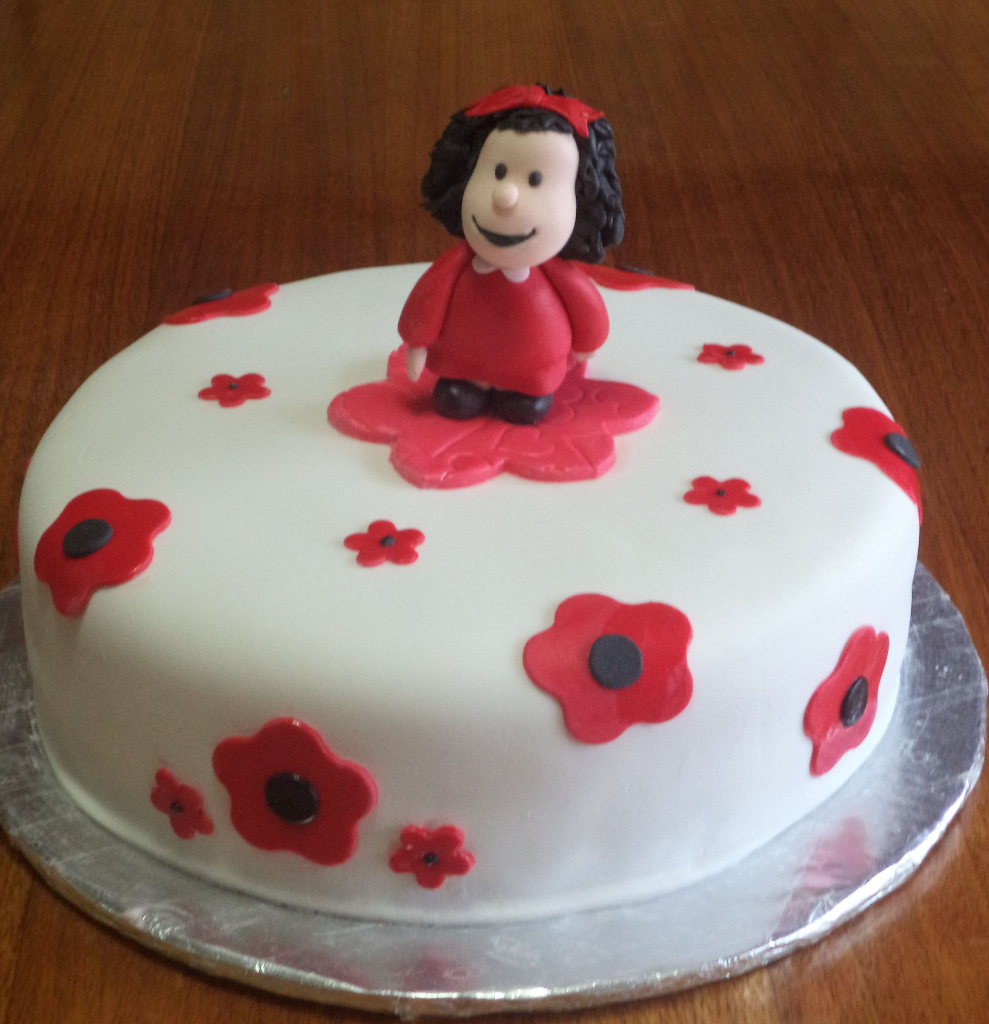 #mafalda #cake - #torta  @volovanProductos #puq #chile