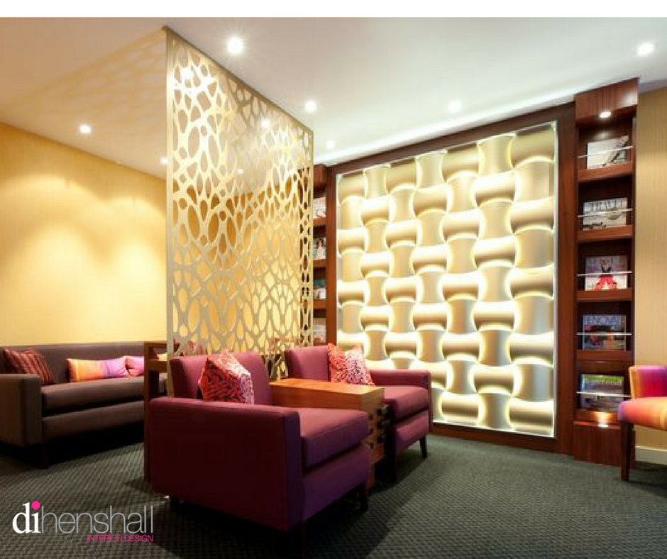 Noosa Medical Centre reception area with lit feature wall, room