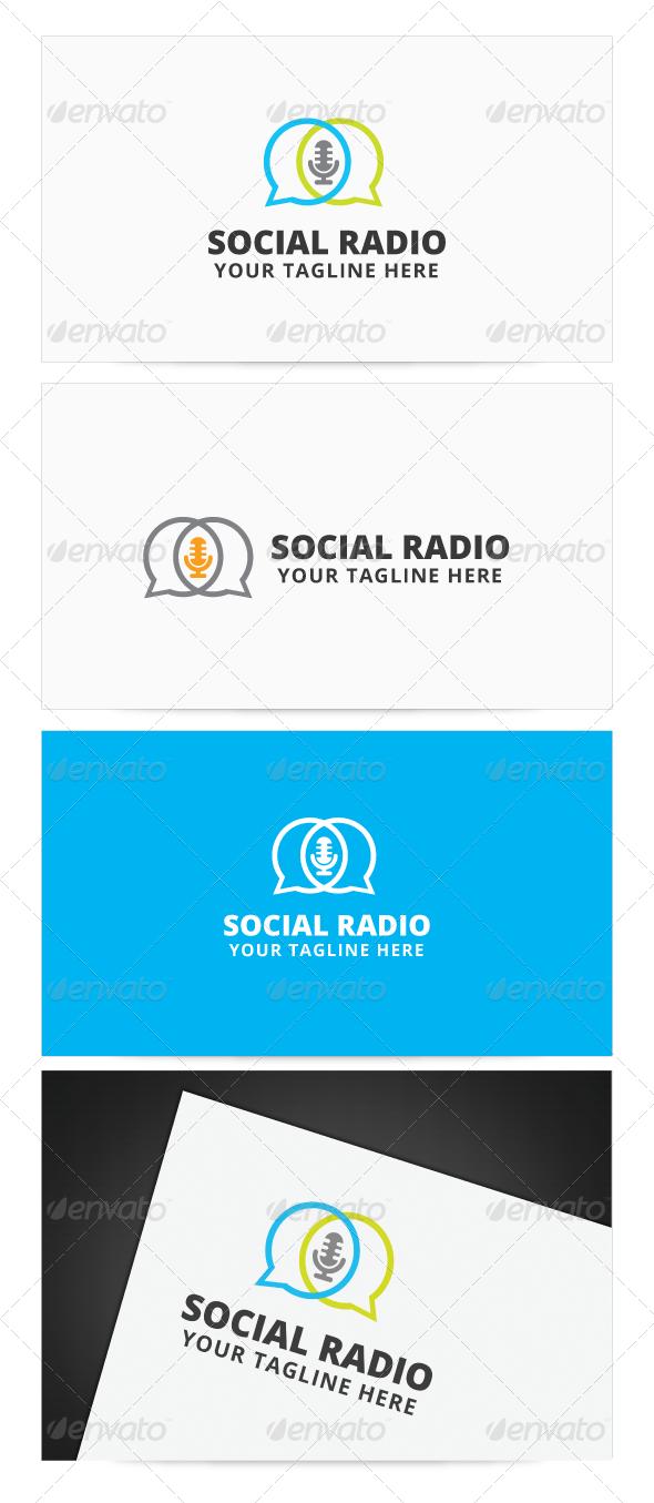 Social radio logo radios logos and fonts social radio logo thecheapjerseys Images