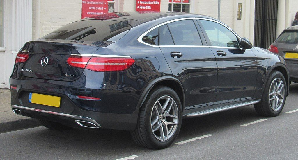 2017 Mercedes Benz Glc 250d 4matic Amg Line Coupe Automatic 2 1
