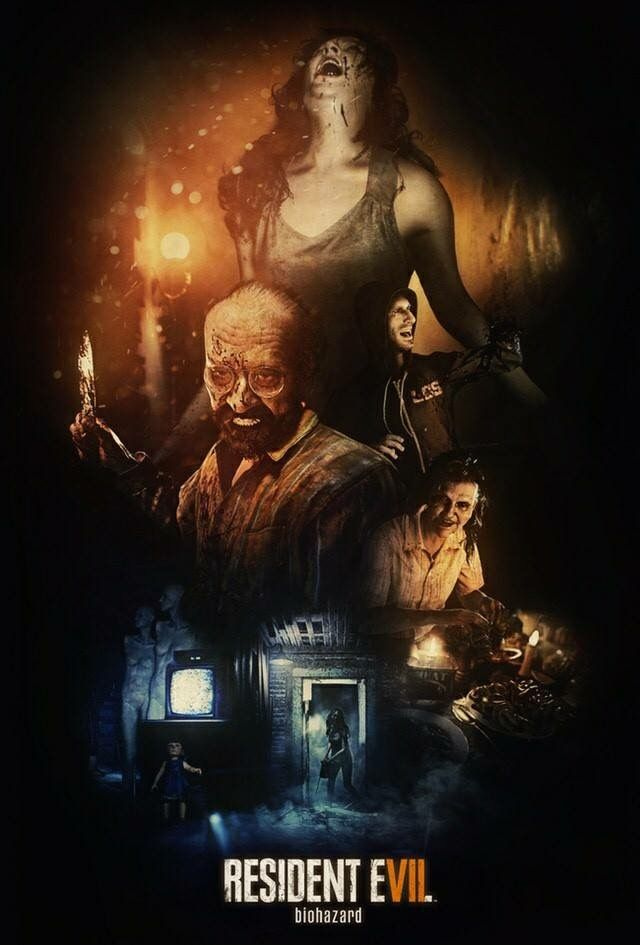 Resident Evil 7 Biohazard A Beautiful Poster Made By Reddit User