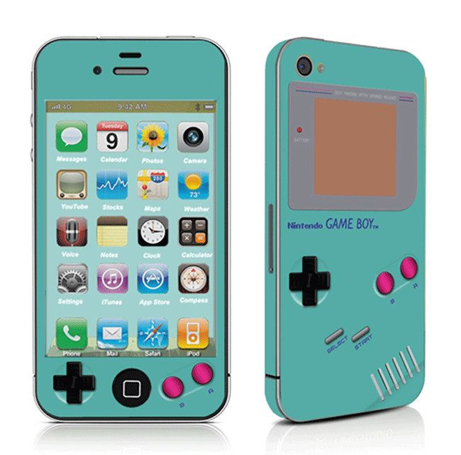 Gameboy Iphone Cover Iphone Sticker Iphone Decal Iphone Skin For