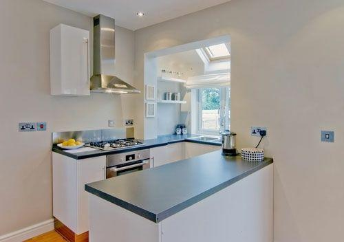 Kleine Küche - minimalistisches Design Küchen Pinterest - ideen für küchenwände