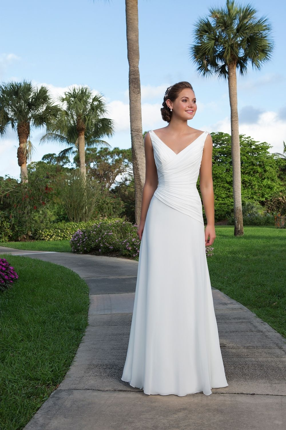 Lightweight Wedding Dresses For Abroad