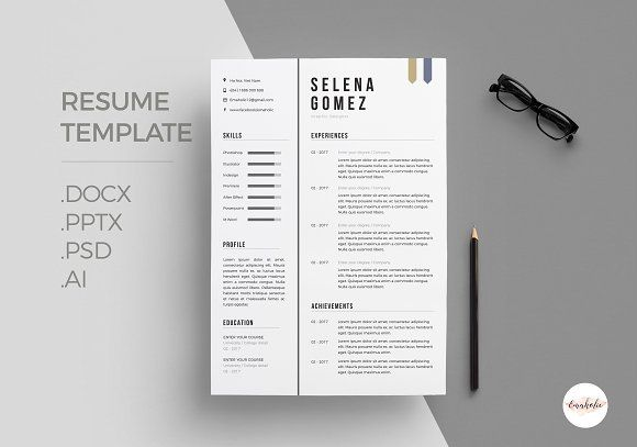 Professional Cv Template Creativework  Best Resume