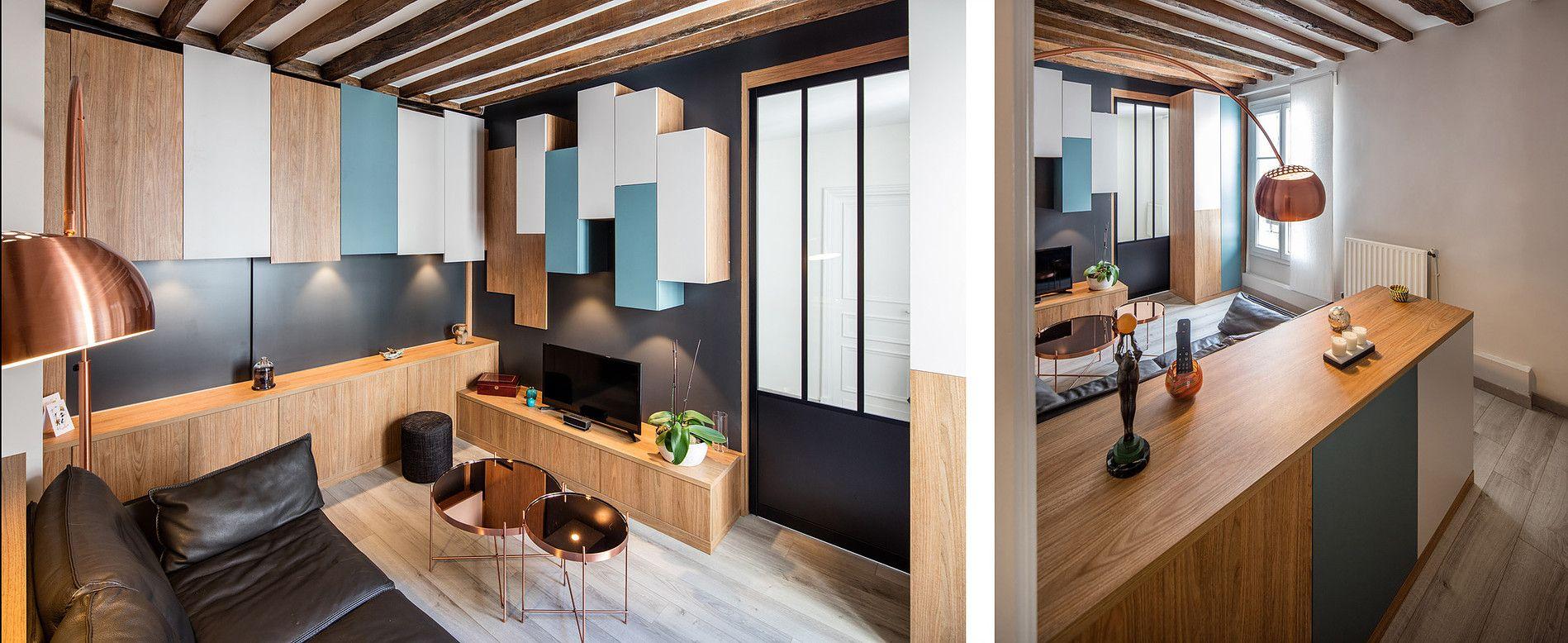 Verticalite Horizontalite Petit Espace Photographe Architecture Maison Agencement Interieur