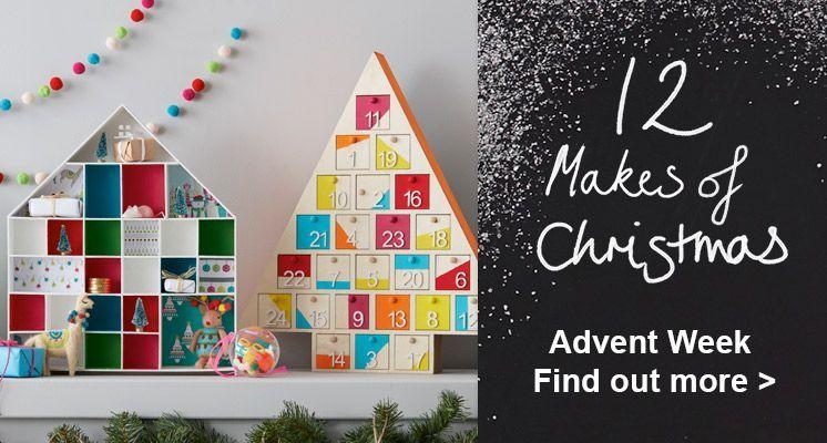 Hobbycraft 12 makes of christmas #calendarmakingchristmasscountdown