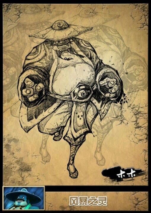 Dota2 Character Sketch 5 Art Sketches Art Character Sketch